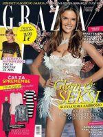 Grazia Magazine [Slovenia] (February 2016)