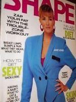 Ja  Jones   Shape Magazine  United States   October 1988