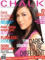 Chalk Magazine [Philippines] (June 2008)