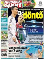 Nemzeti Sport Magazine [Hungary] (12 April 2014)