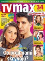 TV Max Magazine [Slovakia] (16 November 2018)