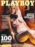 Playboy Magazine [Netherlands] (October 2016)