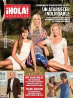 Hola! Magazine [Argentina] (8 December 2014)