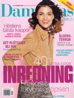 Damernas Varld Magazine [Sweden] (October 2000)