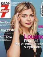 Télé 7 Jours Magazine [France] (4 June 2016)