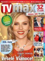 TV Max Magazine [Slovakia] (15 December 2017)
