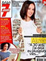 Télé 7 Jours Magazine [Canada] (23 November 2013)
