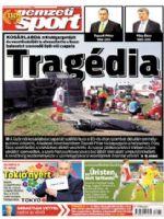 Nemzeti Sport Magazine [Hungary] (8 September 2013)