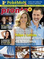 Pronto Magazine [Spain] (14 September 2016)