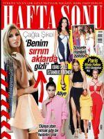 Haftasonu Magazine [Turkey] (8 October 2014)