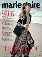 Marie Claire Magazine [Italy] (January 2016)