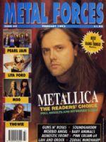 Metal Forces Magazine [United States] (February 1992)