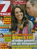 7 Tage Magazine [Germany] (16 April 2016)