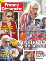 France-Dimanche Magazine [France] (28 August 2020)