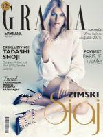 Grazia Magazine [Croatia] (December 2015)