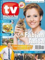 TVműsor.hu Magazine [Hungary] (30 March 2015)