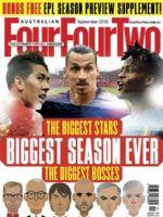 Four Four Two Magazine [Australia] (September 2016)