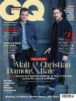 GQ Magazine [United Kingdom] (November 2019)