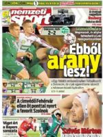 Nemzeti Sport Magazine [Hungary] (6 April 2014)