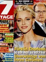 7 Tage Magazine [Germany] (20 August 2016)