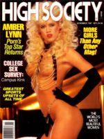 Society nude high magazine white vanna