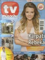 TVműsor.hu Magazine [Hungary] (24 October 2016)
