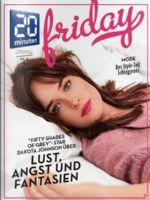 20 Minuten Friday Magazine [Switzerland] (12 February 2015)