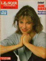Le Soir Illustre Magazine [Belgium] (4 July 1987)