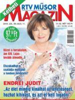 Kétheti RTV Műsormagazin Magazine [Hungary] (29 July 2019)