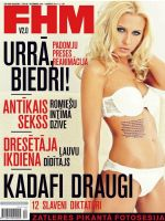 FHM Magazine [Latvia] (January 2012)