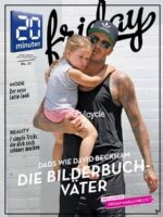 20 Minuten Friday Magazine [Switzerland] (11 September 2015)