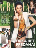 Grazia Magazine [Croatia] (July 2013)
