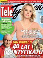 Tele Tydzień Magazine [Poland] (12 October 2018)