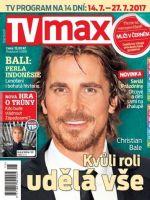 TV Max Magazine [Czech Republic] (14 July 2017)
