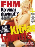 FHM Magazine [Latvia] (December 2012)