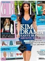 Grazia Magazine [United Kingdom] (14 April 2015)