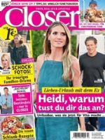 Closer Magazine [Germany] (10 January 2018)