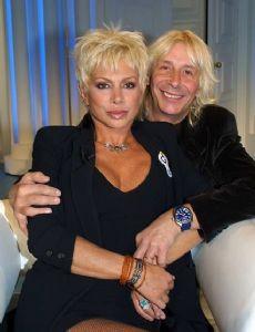 Carmen Russo and Enzo Paolo Turchi
