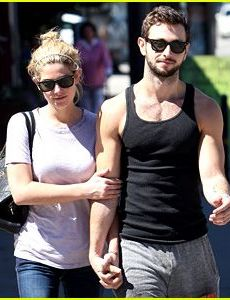 Paul Khoury and Ashley Greene