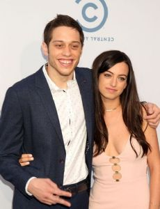 Pete Davidson and Cazzie David