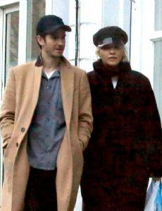 Andrew Garfield and Rita Ora