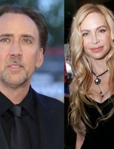 Christina Fulton and Nicolas Cage