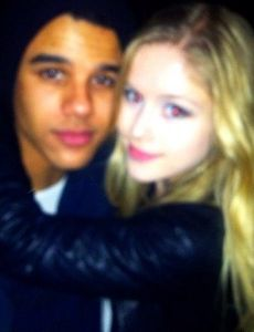 Erin Moriarty and Jacob Artist