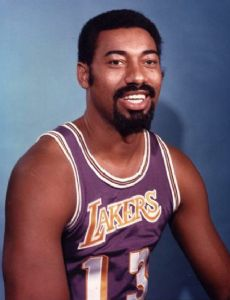 Chelo Alonso and Wilt Chamberlain