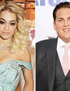 Rita Ora and Jonah Hill