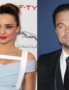 Leonardo DiCaprio and Miranda Kerr