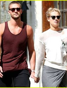 Toni Garrn and Chandler Parsons