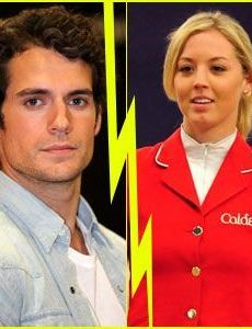 Henry Cavill and Ellen Whitaker