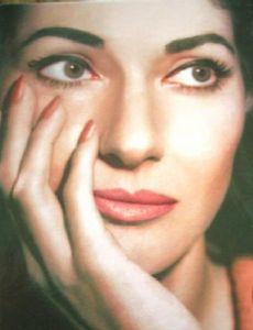 Warren Beatty and Maria Callas