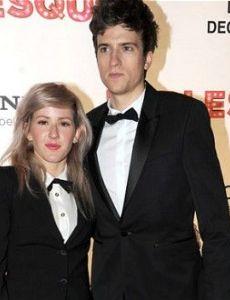 Ellie Goulding and Greg James